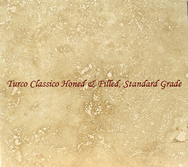 Turco Classico Honed & Filled, First Grade